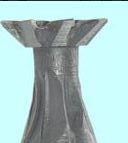 Фреза Ласточкин хвост - прямой конус